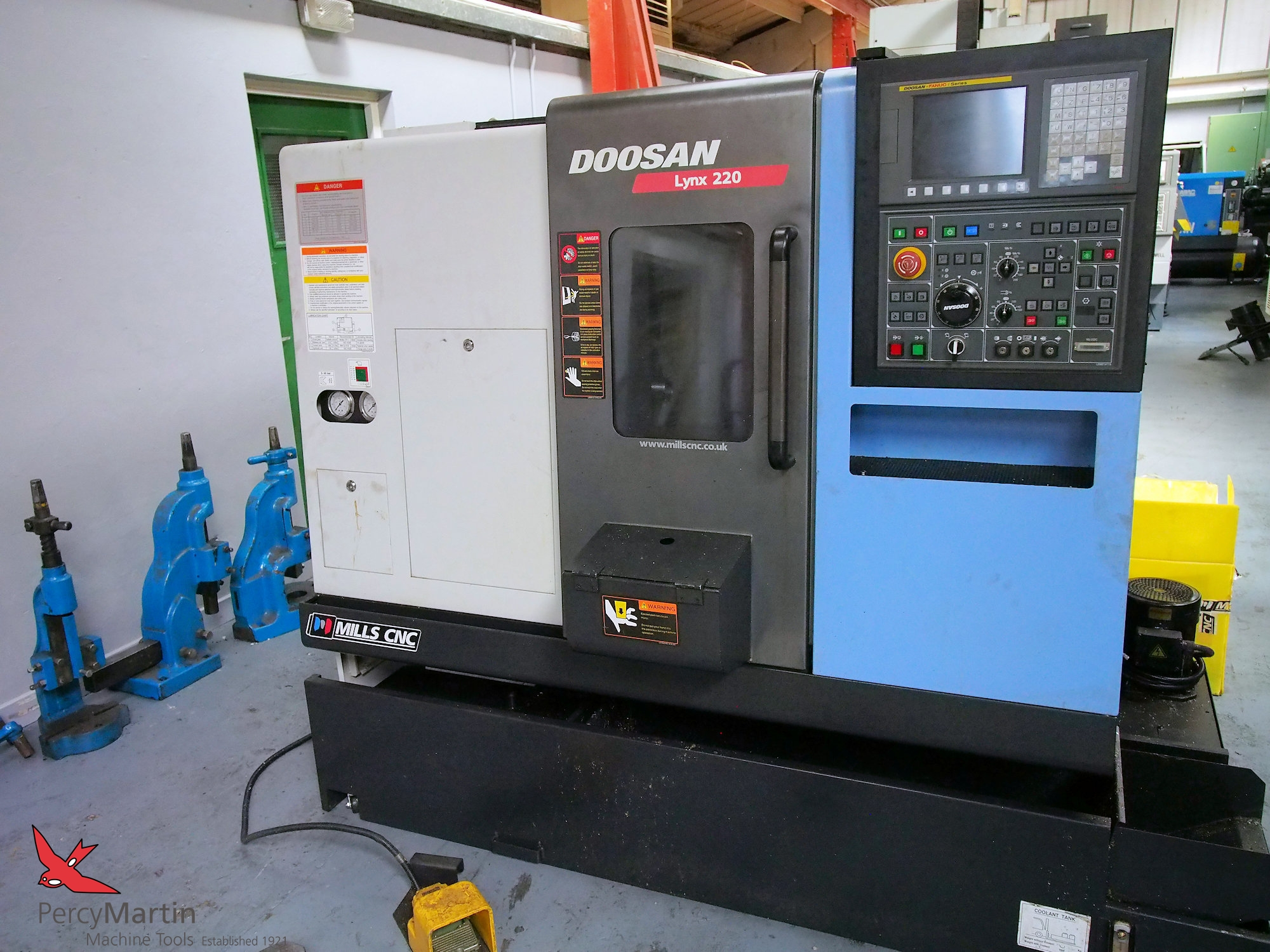 used Doosan Lynx 220B 2012 CNC Lathes for sale | Percy Martin