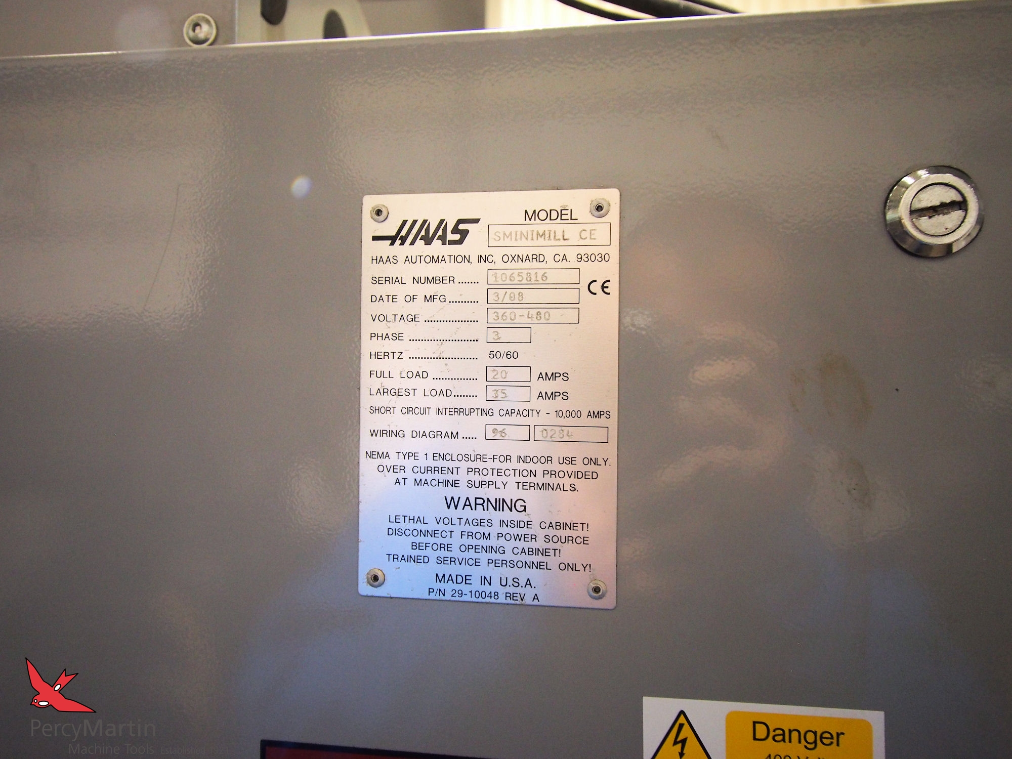 Used Haas Super Mini Mill 2008 Vertical Machining Centres For Sale Wiring Diagram Download Pdf